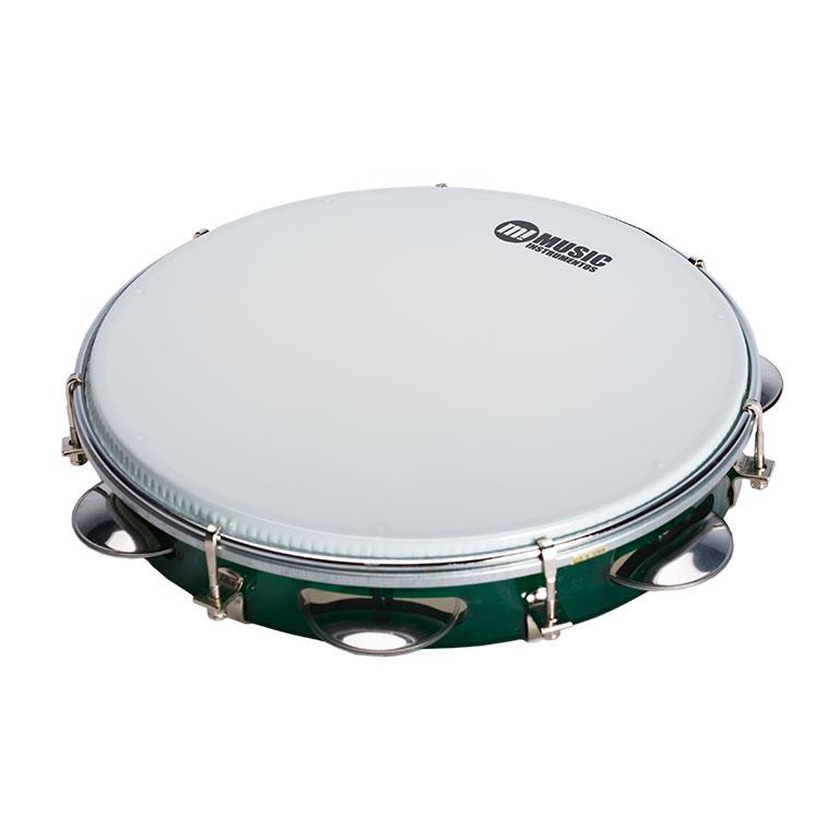 Pandeiro music instrumentos verde